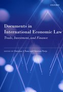 Cover for Documents in International Economic Law