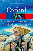 Cover for The Concise Oxford Dictionary of the Christian Church