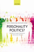 Cover for Personality Politics?