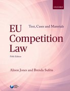 Cover for EU COMPETITION LAW: TEXT, CASES & MATERIALS