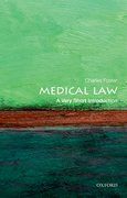 Cover for Medical Law: A Very Short Introduction