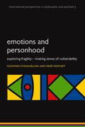 Cover for Emotions and Personhood