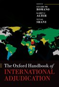 Cover for The Oxford Handbook of International Adjudication