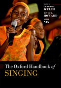 Cover for The Oxford Handbook of Singing