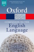 Cover for Oxford Companion to the English Language