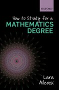 Cover for How to Study for a Mathematics Degree