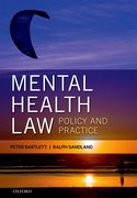 Cover for Mental Health Law: Policy and Practice