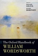 Cover for The Oxford Handbook of William Wordsworth