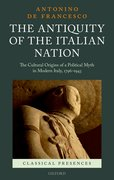 Cover for The Antiquity of the Italian Nation