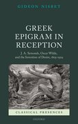 Cover for Greek Epigram in Reception