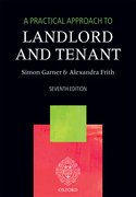Cover for A Practical Approach to Landlord and Tenant