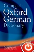 Cover for Compact Oxford German Dictionary