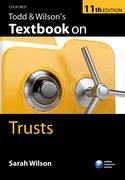 Todd and Wilson's Textbook on Trusts 11e