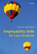 Cover for Employability Skills for Law Students