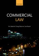Cover for Commercial law