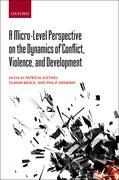 Cover for A Micro-Level Perspective on the Dynamics of Conflict, Violence, and Development