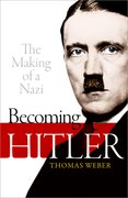 Cover for Becoming Hitler