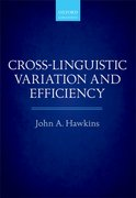 Cover for Cross-Linguistic Variation and Efficiency