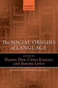 Cover for The Social Origins of Language