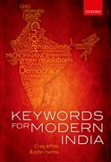 Cover for Keywords for Modern India