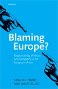Cover for Blaming Europe?
