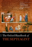 Cover for The Oxford Handbook of the Septuagint