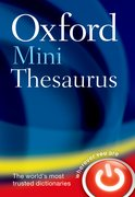 Cover for Oxford Mini Thesaurus