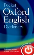 Cover for Pocket Oxford English Dictionary