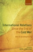 Cover for International Relations Since the End of the Cold War