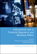 Cover for International Law in Financial Regulation and Monetary Affairs