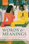 Cover for Words and Meanings