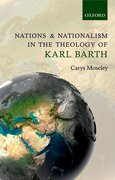 Cover for Nations and Nationalism in the Theology of Karl Barth