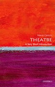 Cover for Theatre: A Very Short Introduction