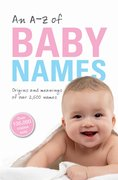 Cover for An A-Z of Baby Names