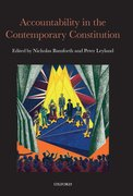 Cover for Accountability in the Contemporary Constitution