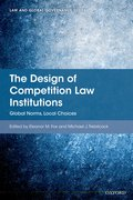 Cover for The Design of Competition Law Institutions