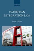 Cover for Caribbean Integration Law