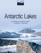 Cover for Antarctic Lakes