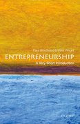 Cover for Entrepreneurship: A Very Short Introduction