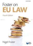 Cover for Foster on EU Law