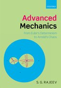 Cover for Advanced Mechanics