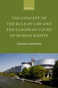 Cover for The Concept of the Rule of Law and the European Court of Human Rights