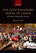 Cover for The Contemporary House of Lords