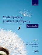 Waelde et al: Contemporary Intellectual Property: Law and Policy 3e