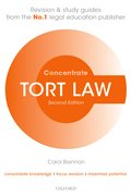 Cover for Tort Law Concentrate