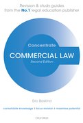 Cover for Commercial Law Concentrate