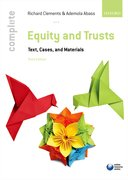 Clements & Abass: Complete Equity and Trusts 3e