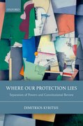 Cover for Where Our Protection Lies - 9780199672257