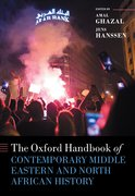 Cover for The Oxford Handbook of Contemporary Middle-Eastern and North African History