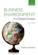 Cover for Business Environment in a Global Context
